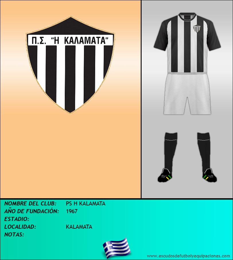 Escudo de PS H KALAMATA