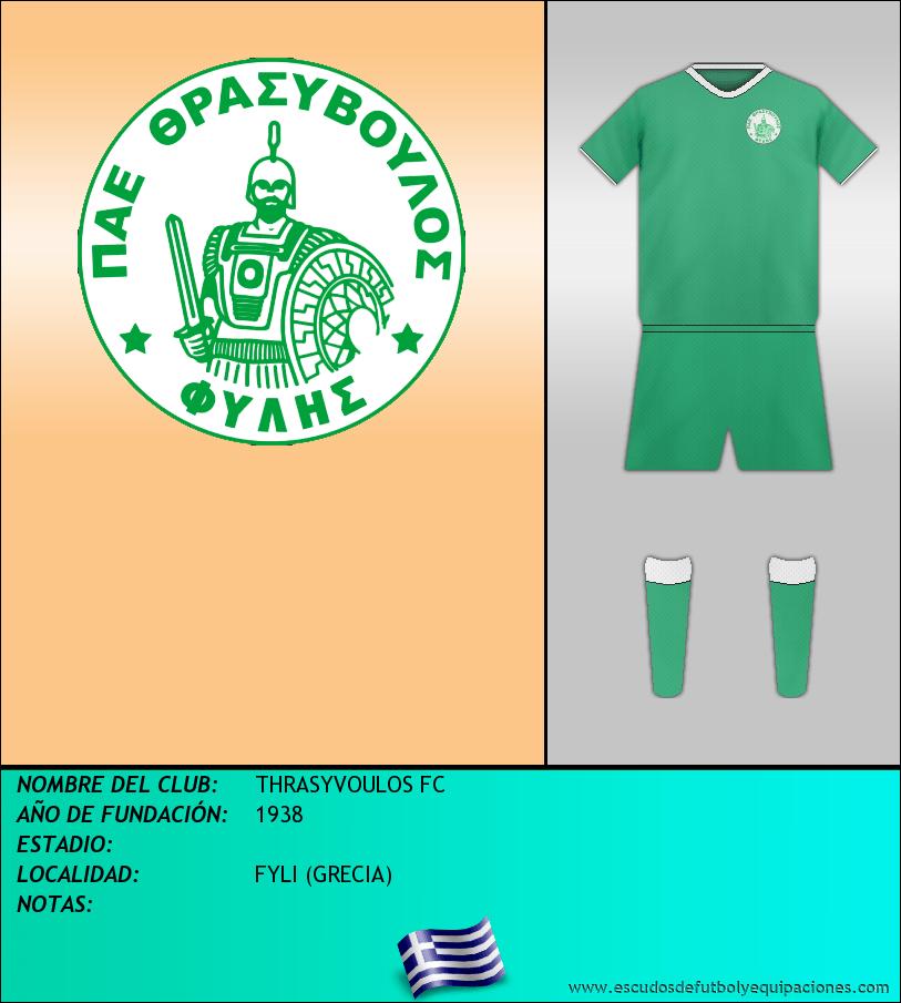Escudo de THRASYVOULOS FC