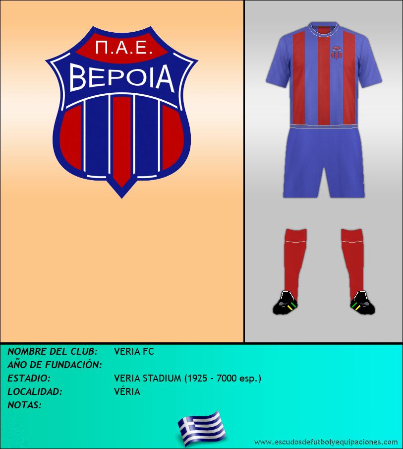Escudo de VERIA FC