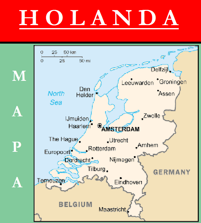 Escudo de MAPA DE HOLANDA