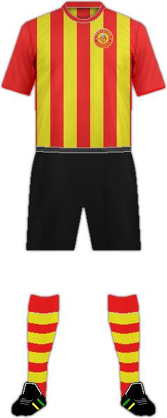 Equipación VV TER LEEDE FC