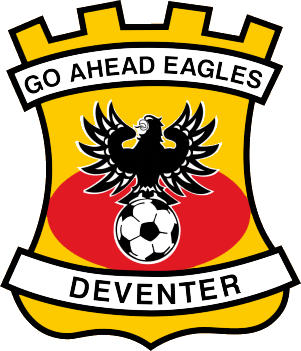 Escudo de GO AHEAD EAGLES (HOLANDA)