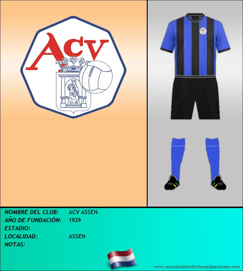 Escudo de ACV ASSEN