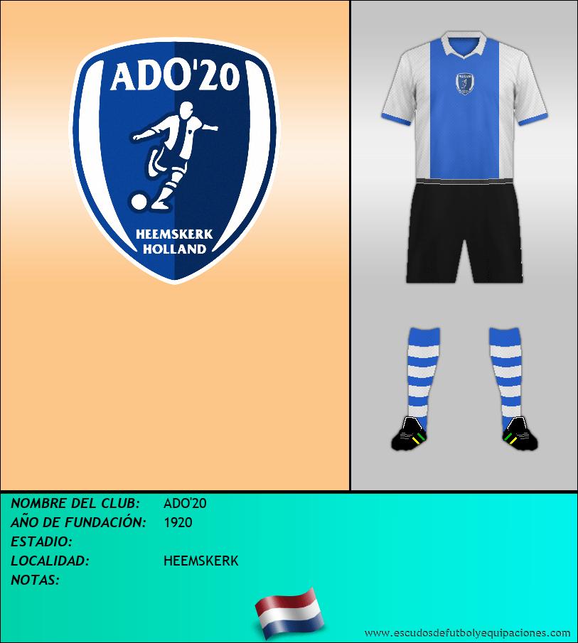 Escudo de ADO'20