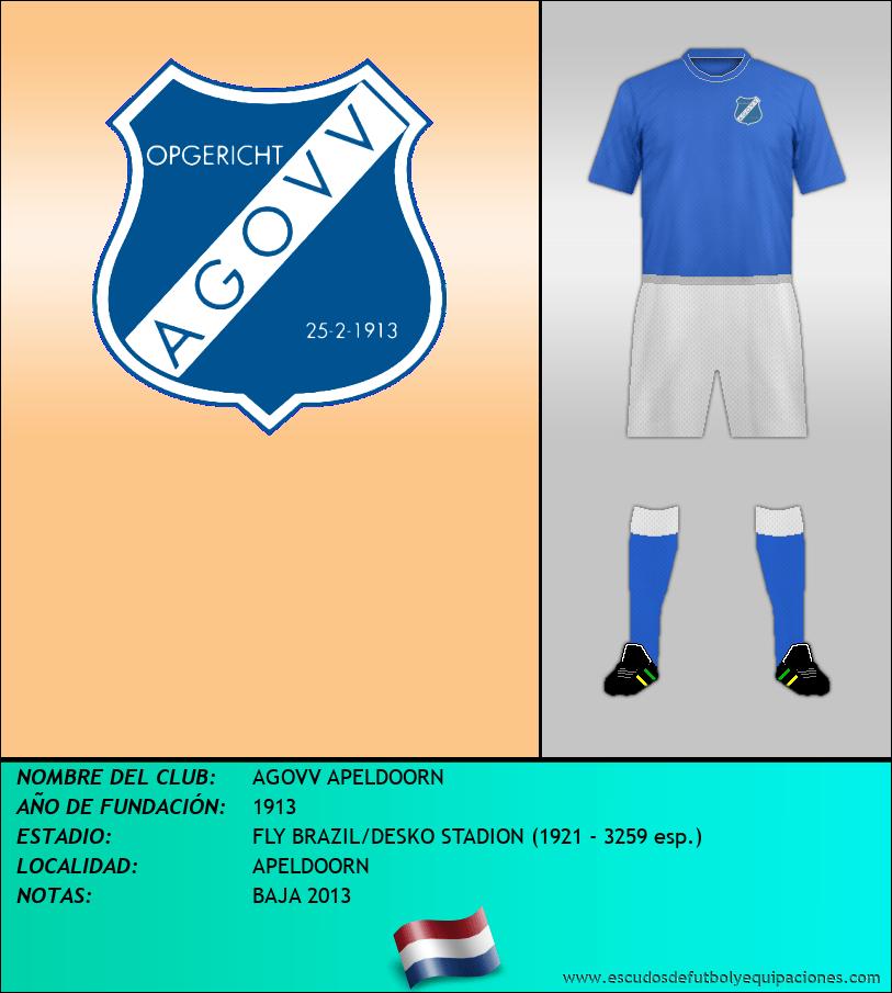 Escudo de AGOVV APELDOORN