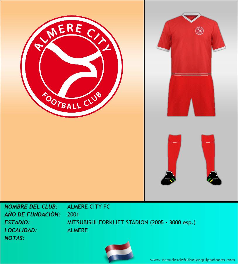 Escudo de ALMERE CITY FC