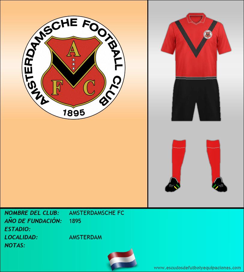Escudo de AMSTERDAMSCHE FC