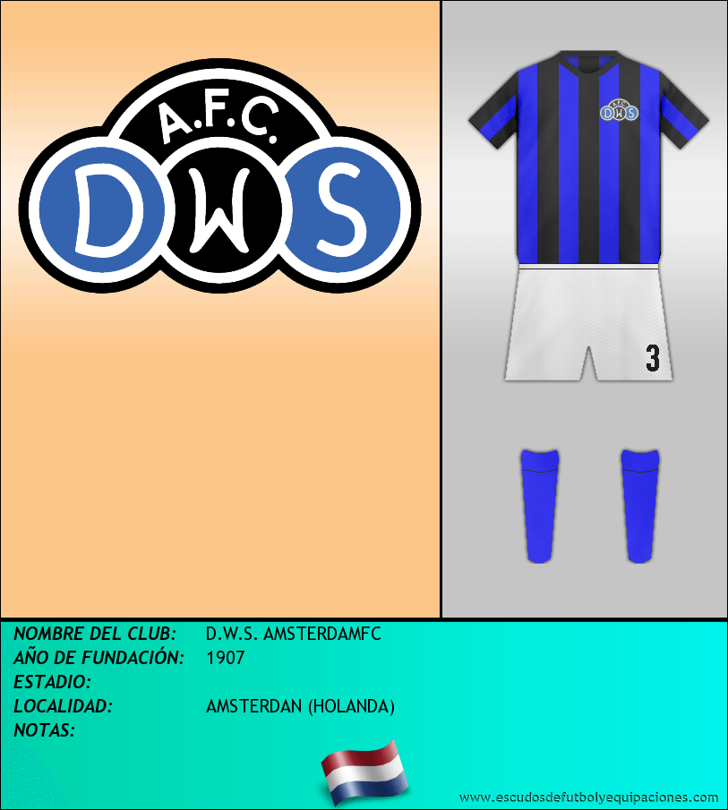 Escudo de D.W.S. AMSTERDAMFC