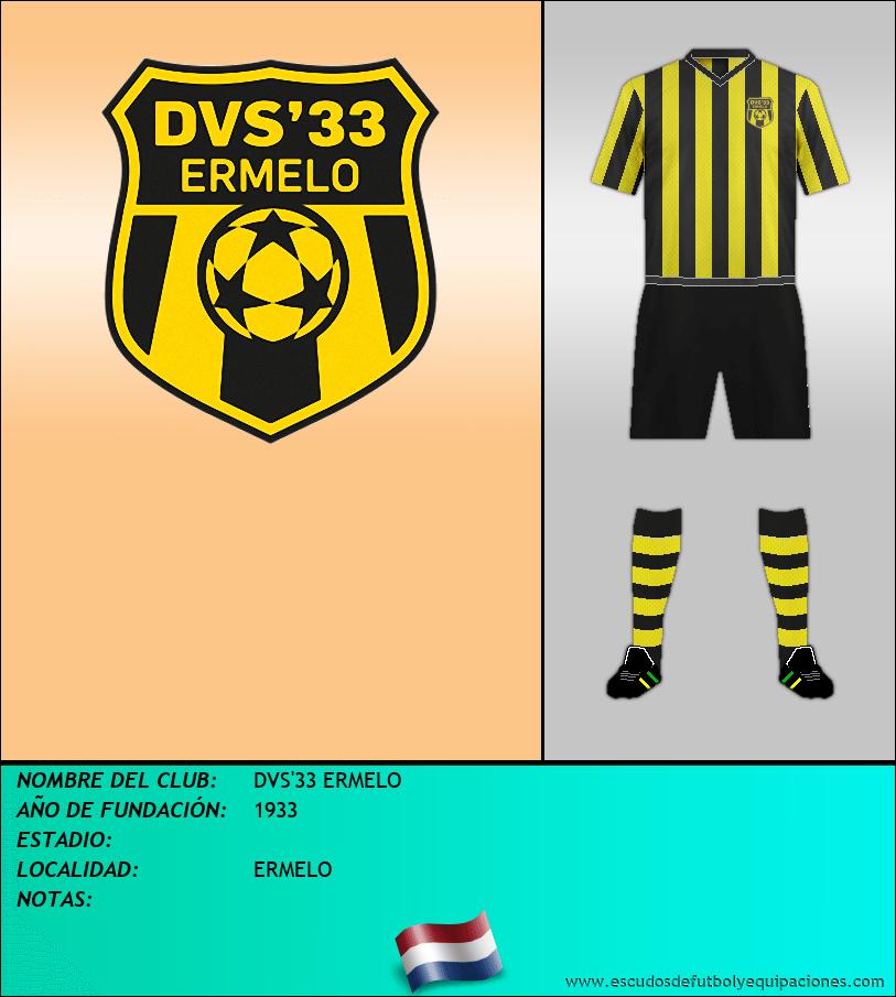 Escudo de DVS'33 ERMELO