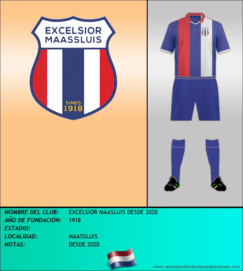 Escudo de EXCELSIOR MAASLUIS DESDE 2020