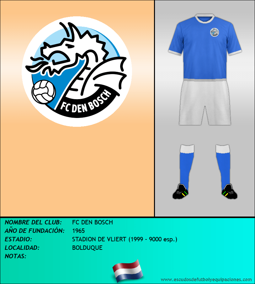 Escudo de FC DEN BOSCH