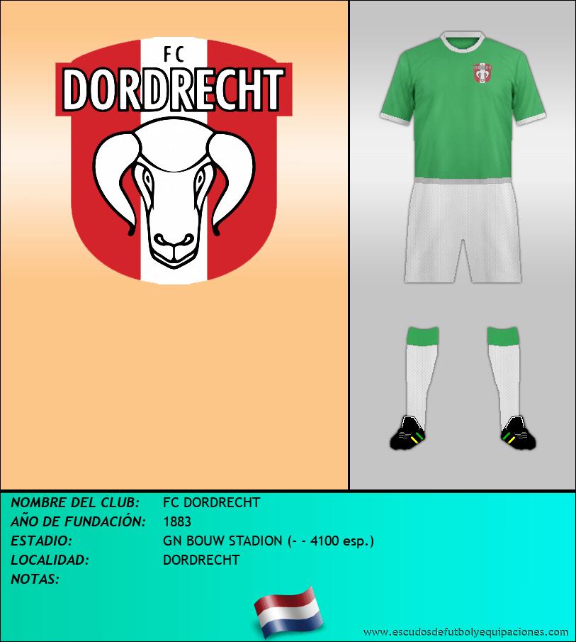 Escudo de FC DORDRECHT
