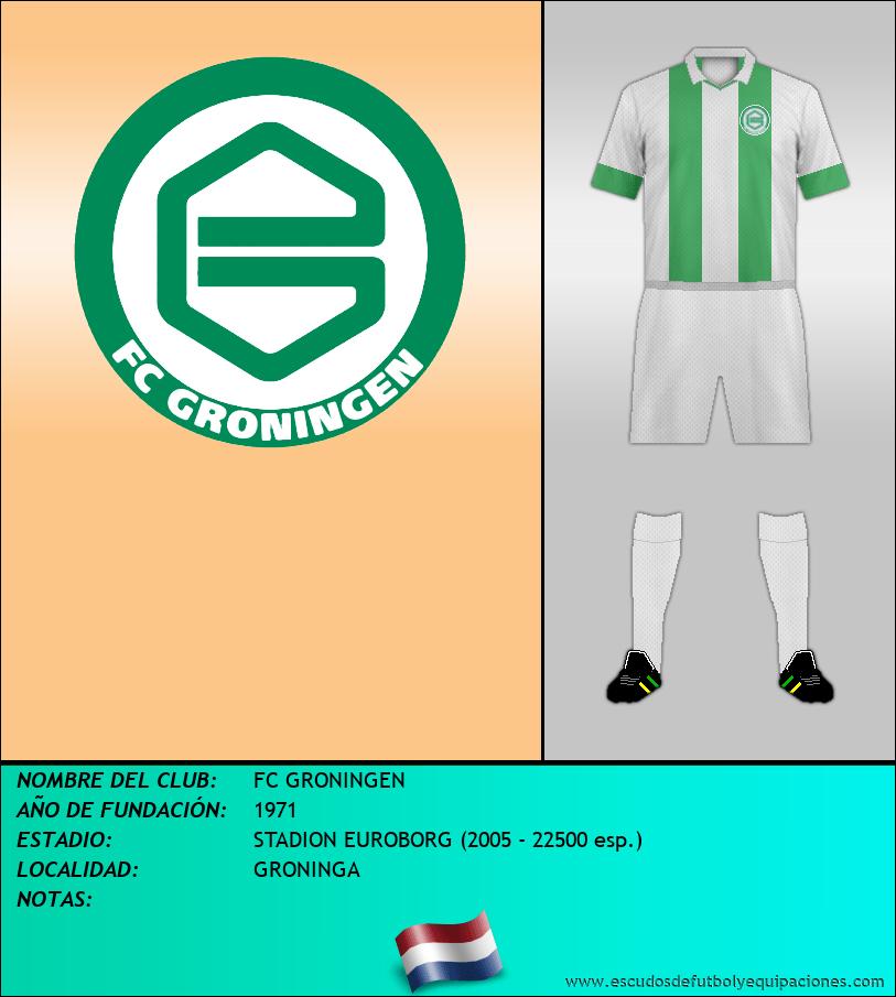 Escudo de FC GRONINGEN