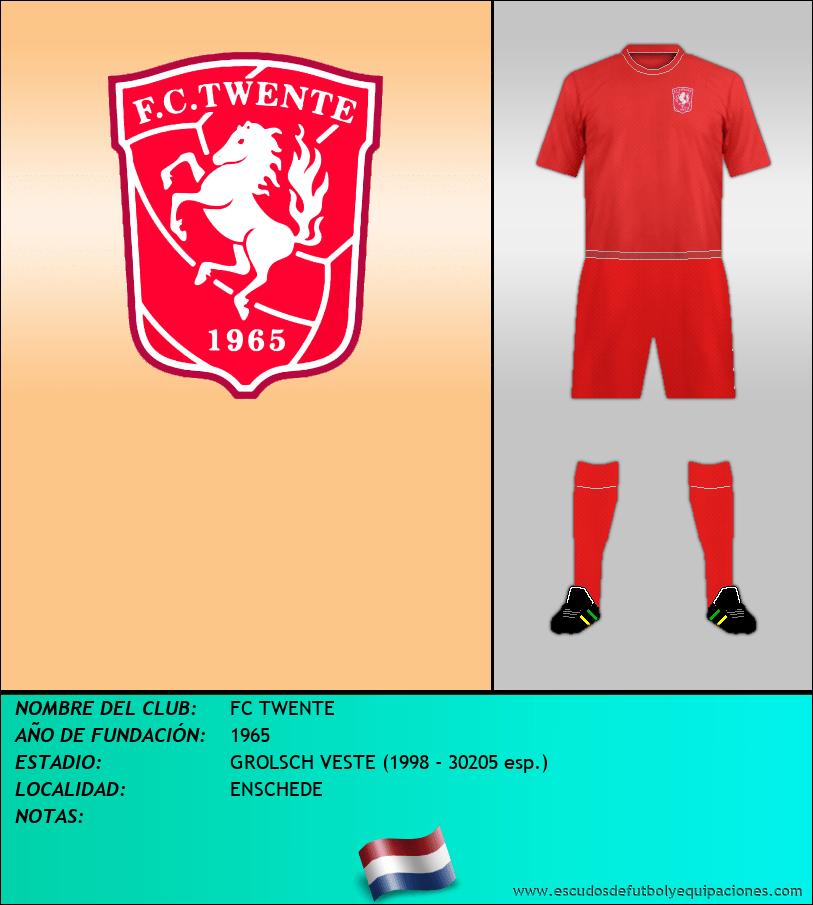 Escudo de FC TWENTE