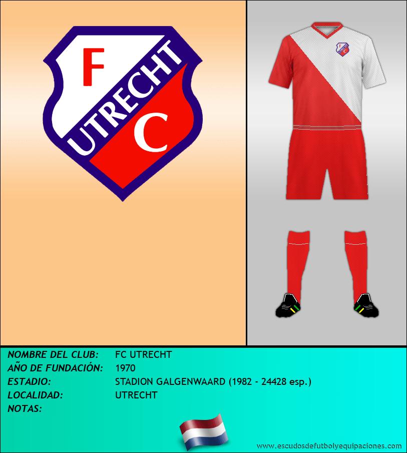 Escudo de FC UTRECHT