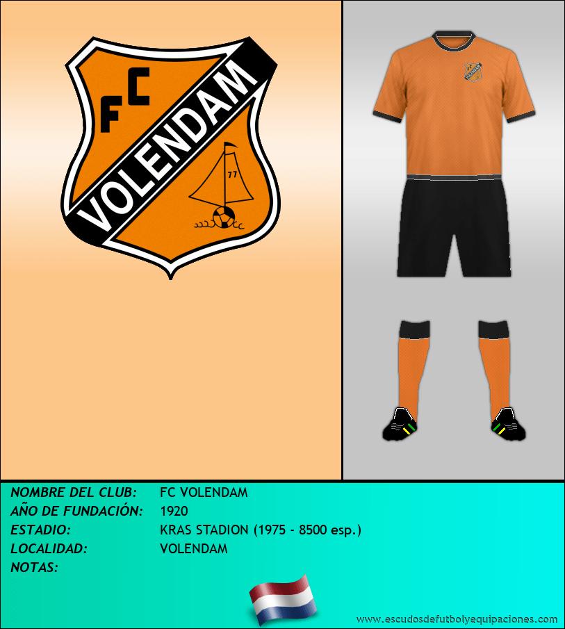 Escudo de FC VOLENDAM