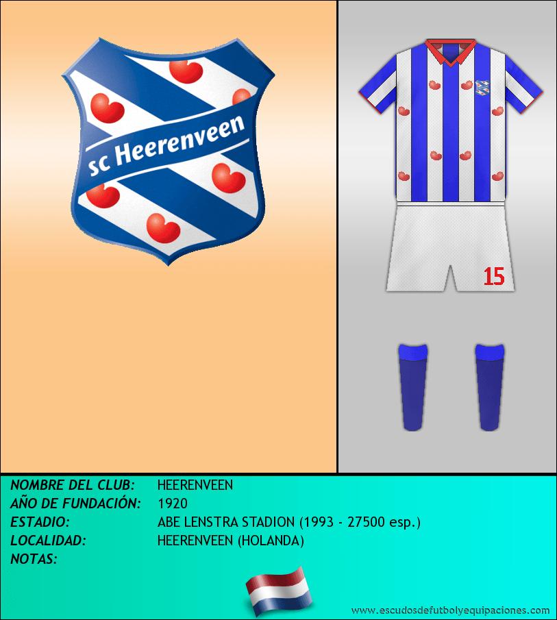 Escudo de HEERENVEEN
