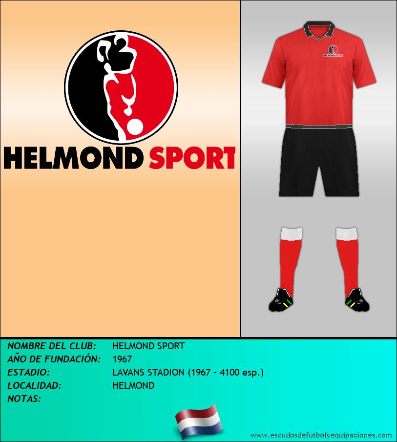 Escudo de HELMOND SPORT
