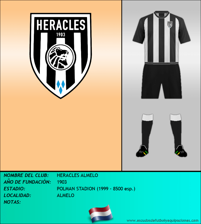 Escudo de HERACLES ALMELO