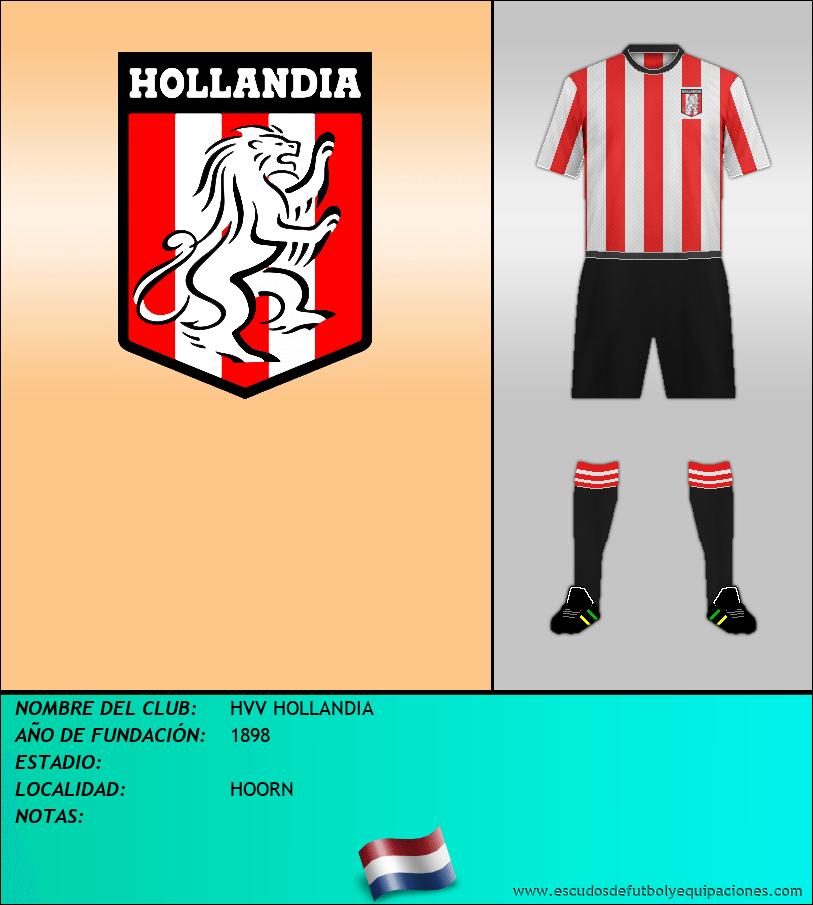 Escudo de HVV HOLLANDIA