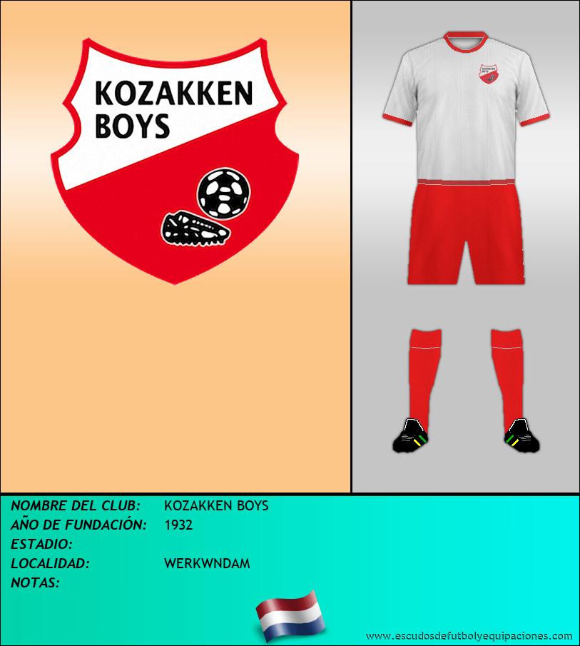 Escudo de KOZAKKEN BOYS