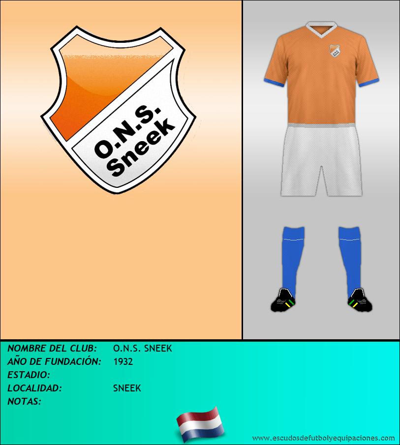 Escudo de O.N.S. SNEEK