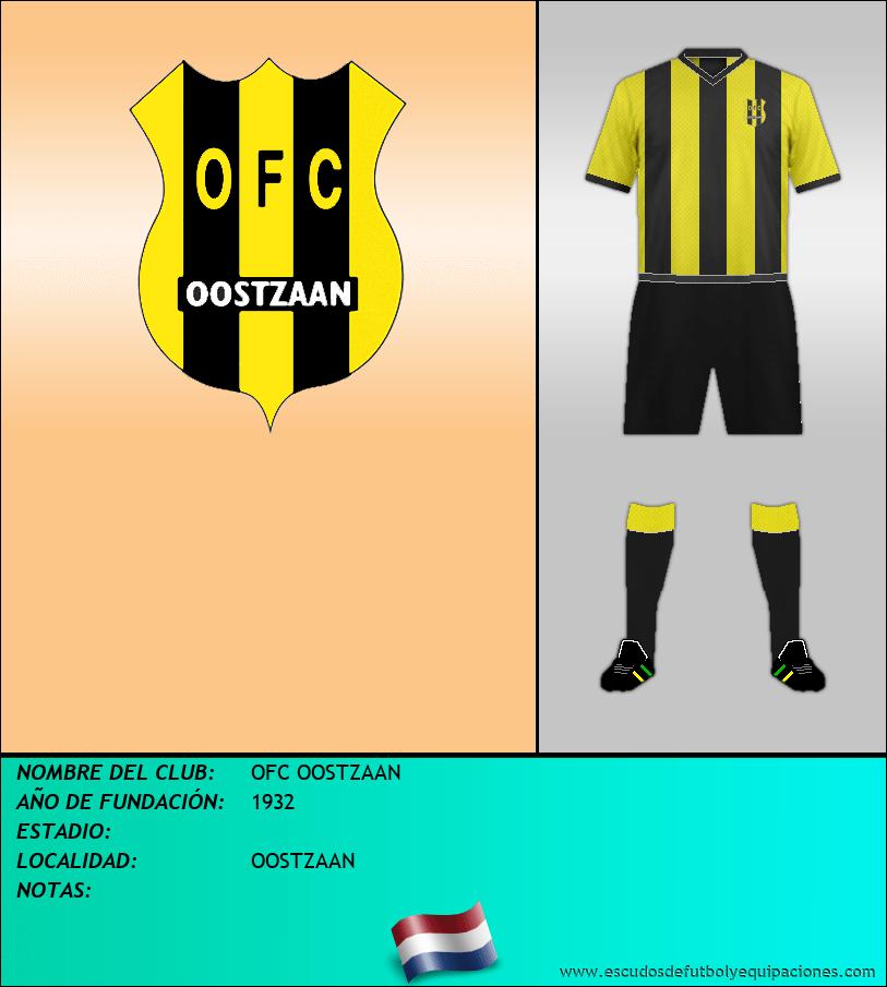 Escudo de OFC OOSTZAAN