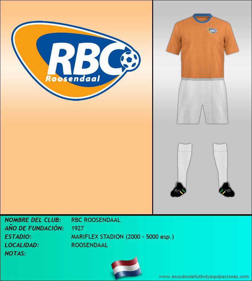 Escudo de RBC ROOSENDAAL