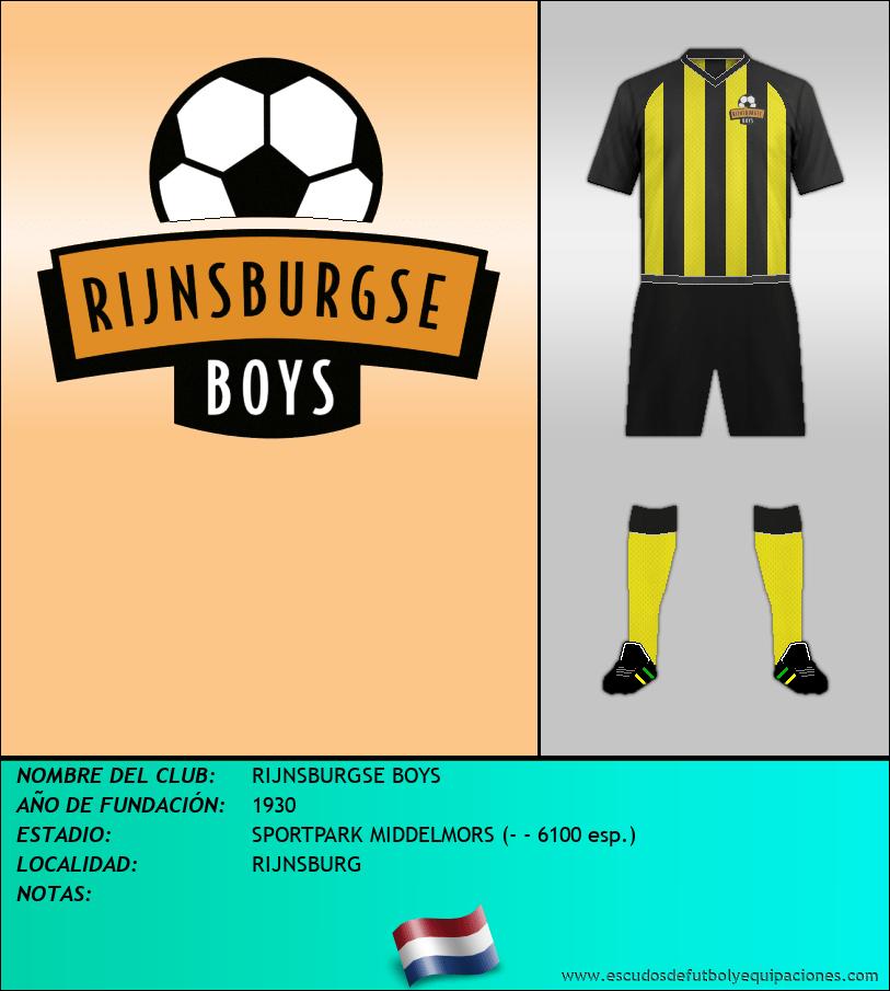 Escudo de RIJNSBURGSE BOYS