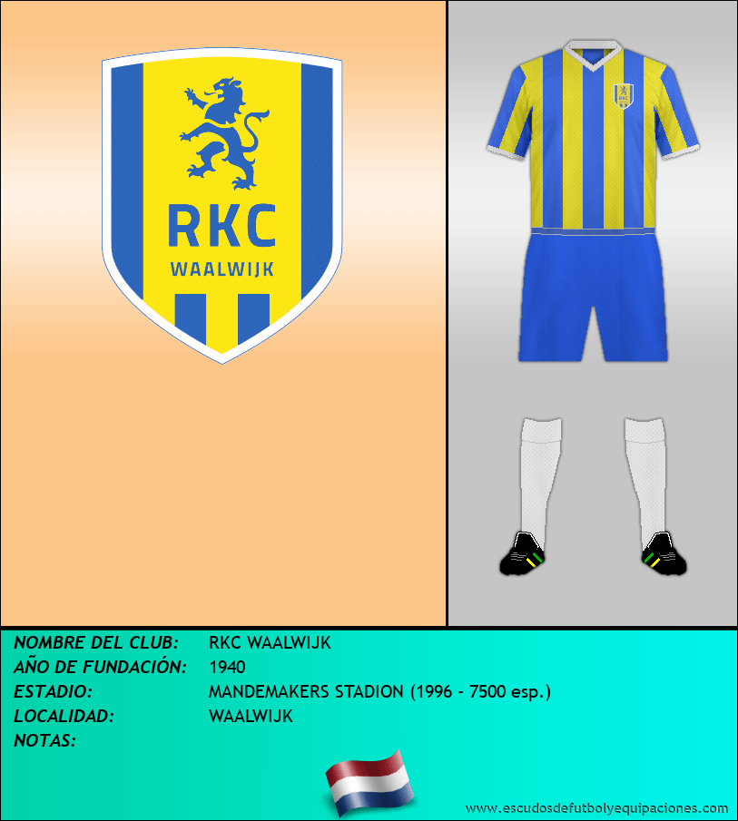 Escudo de RKC WAALWIJK