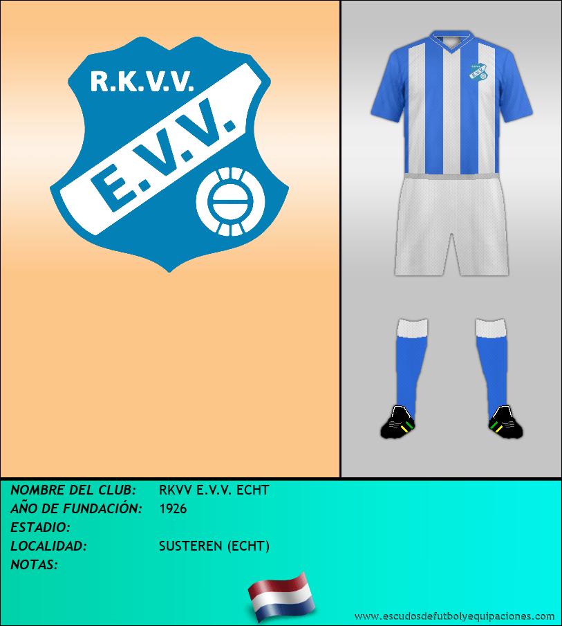 Escudo de RKVV E.V.V. ECHT