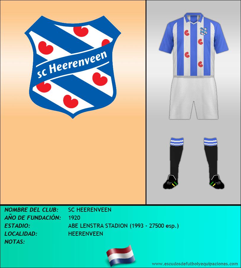 Escudo de SC HEERENVEEN