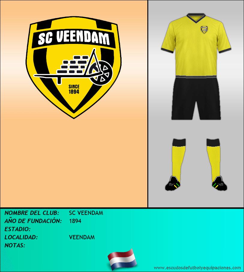 Escudo de SC VEENDAM