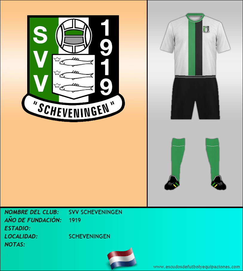Escudo de SVV SCHEVENINGEN