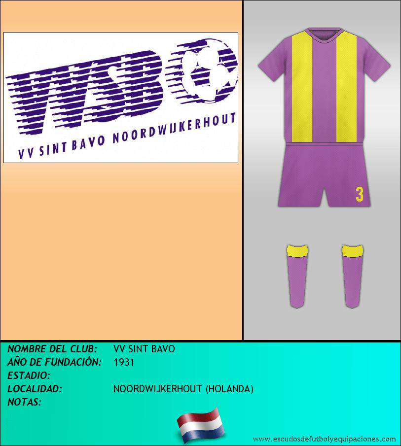 Escudo de VV SINT BAVO
