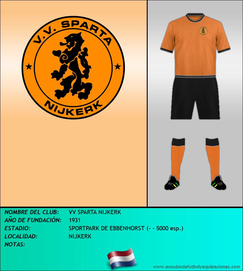 Escudo de VV SPARTA NIJKERK