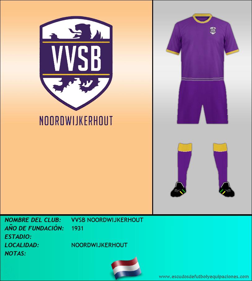 Escudo de VVSB NOORDWIJKERHOUT