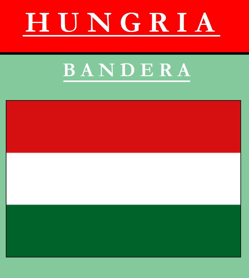 Escudo de BANDERA DE HUNGRÍA