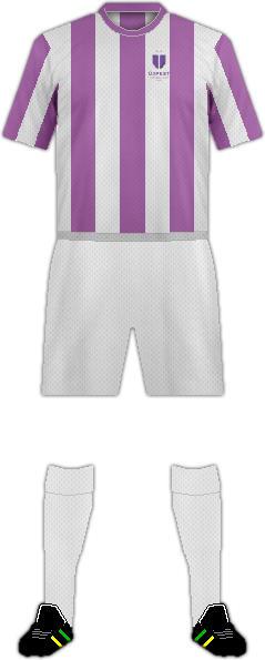 Equipación ÚJPEST FC