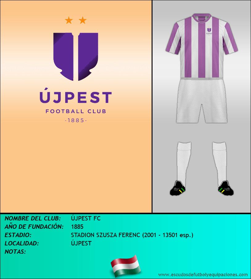 Escudo de ÚJPEST FC