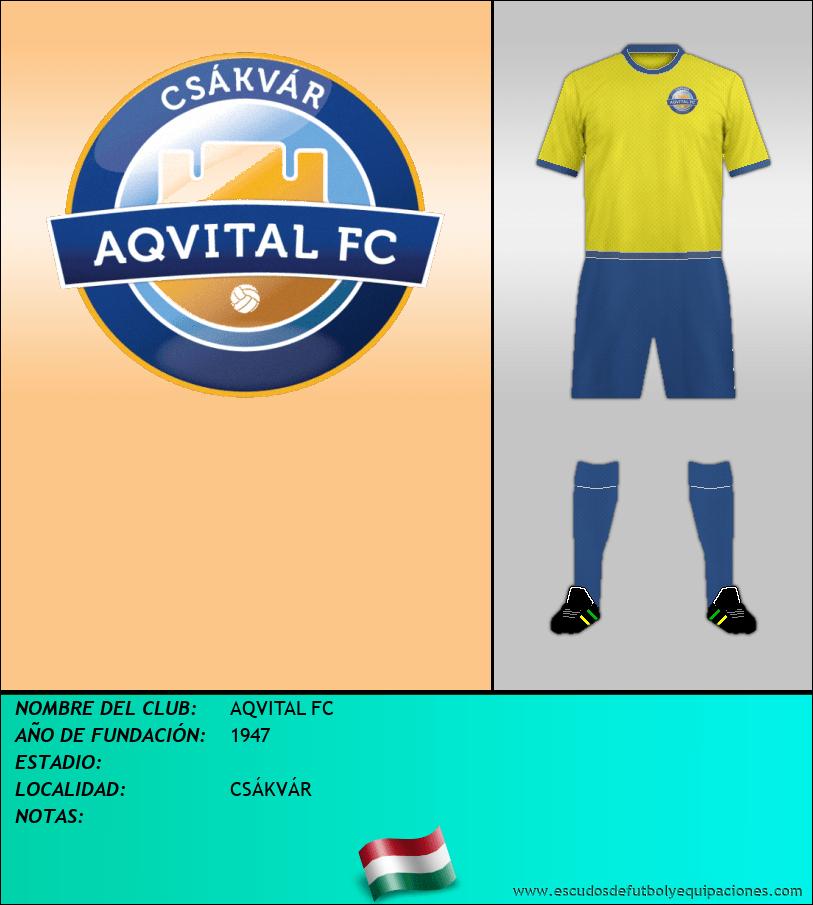 Escudo de AQVITAL FC
