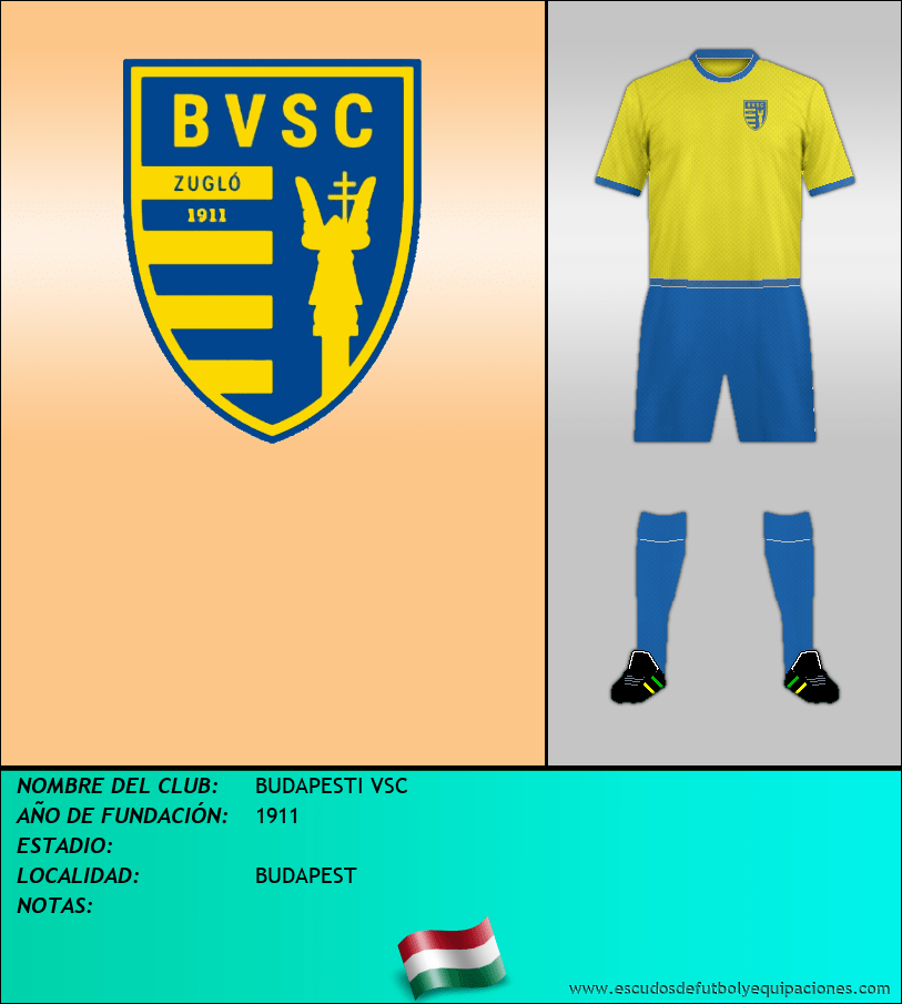Escudo de BUDAPESTI VSC