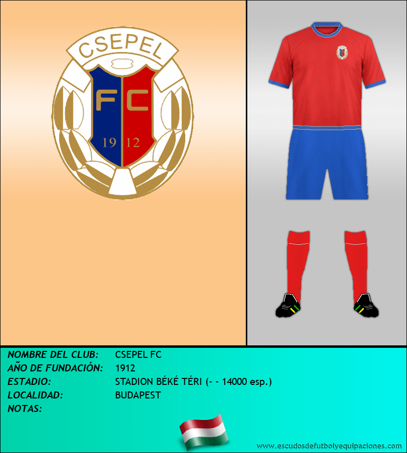 Escudo de CSEPEL FC