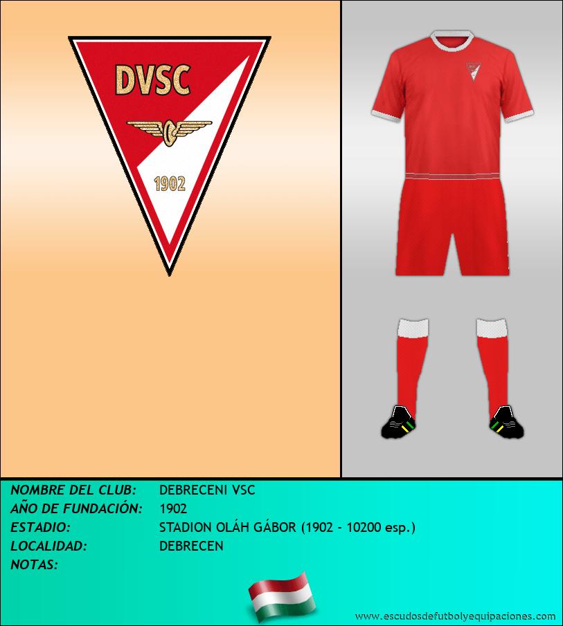 Escudo de DEBRECENI VSC