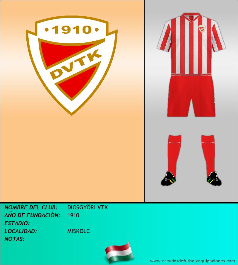 Escudo de DIOSGYÖRI VTK