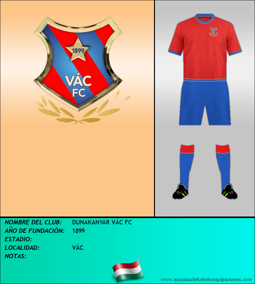 Escudo de DUNAKANYAR VÁC FC