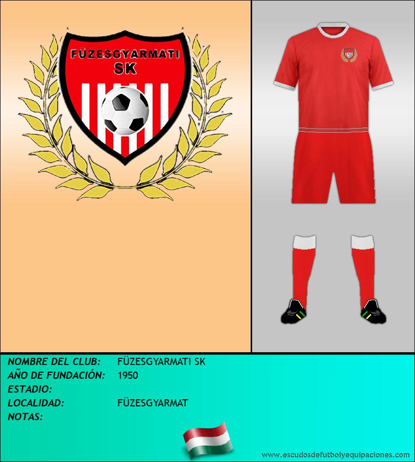 Escudo de FÜZESGYARMATI SK