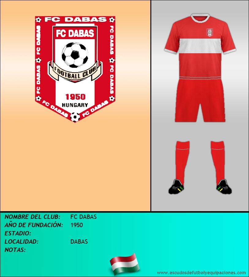 Escudo de FC DABAS