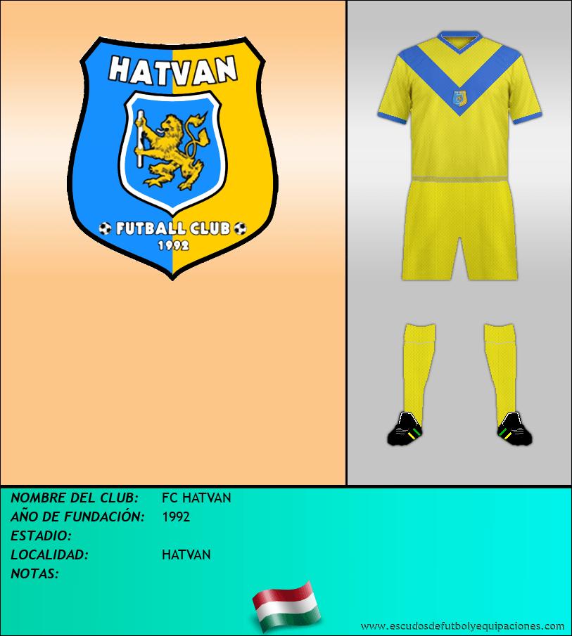 Escudo de FC HATVAN