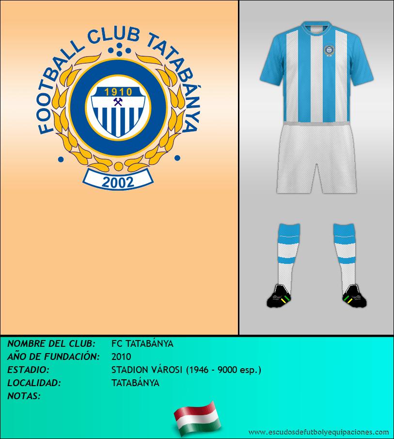 Escudo de FC TATABÁNYA